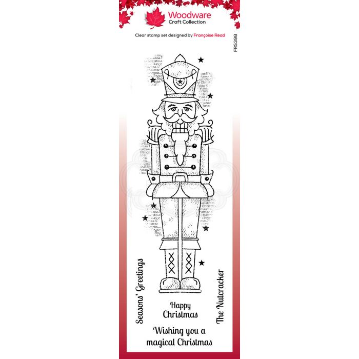 Christmas Nutcracker Head Rubber Stamp for Stamping Crafting Planners